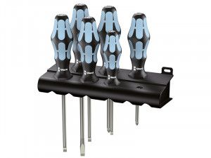 Wera Kraftform Plus Stainless Steel Screwdriver Set of 6 SL/PH