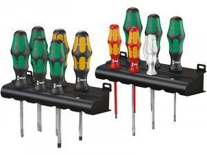 Wera Kraftform Plus XXL 1 Artisan Screwdriver Set of 12 SL/PH/PZ