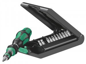 Wera Kraftform Kompakt 50 Screwdriver Bit-Holding Set of 14