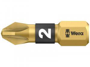 Wera, Pozi Bits BDC BiTorsion Diamond Coated 25mm