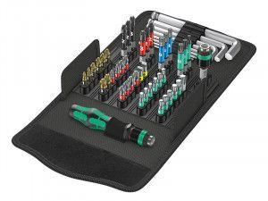 Wera Kraftform Kompakt 100 Screwdriving Service Bit Set of 52