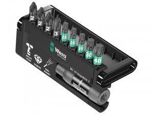 Wera Bit-Check 10 Impaktor 3 Pozi / Torx Set of 10