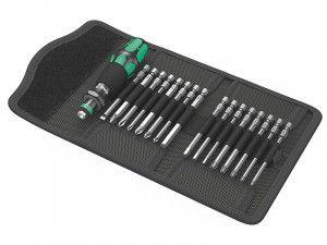 Wera Kraftform Kompakt 60 Screwdriver Specialist Bit Holding Set, 17 Piece