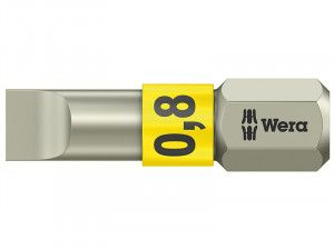 Wera, Stainless Steel Slotted Bits TS Torsion