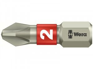 Wera, Stainless Steel Phillips Bits TS Torsion