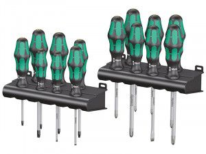 Wera Kraftform Bigpack 300 Lasertip Screwdriver Set, 14 Piece SL/PH/PZ/TX