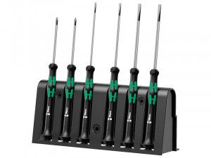 Wera Kraftform 2035/6 Micro Screwdriver Set of 6 SL/PH
