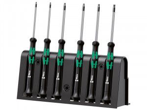 Wera Kraftform 2067 Micro Screwdriver Set of 6 TX