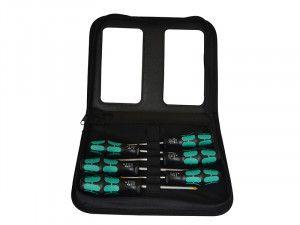 Wera Kraftform Plus Lasertip Screwdriver Set of 6 SL/PH/PZ (Zip Case)