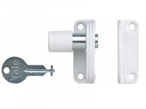 Yale Locks P123 Sash Window Presslock White