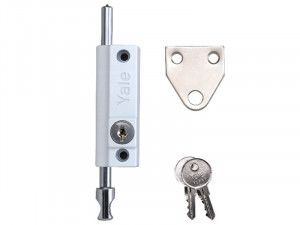 Yale Locks, P124 Door Push Bolt