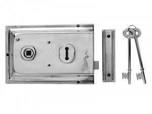 Yale Locks, P334 Rim Lock 156 x 104mm