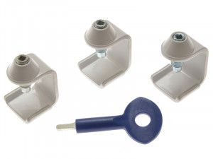 Yale Locks P121 Window Stay Clamps Pack of 3