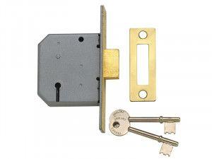 Yale Locks, 3 Lever Mortice Deadlocks - PM322