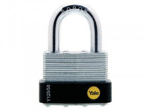 Yale Locks, Y125 Laminated Steel Padlock