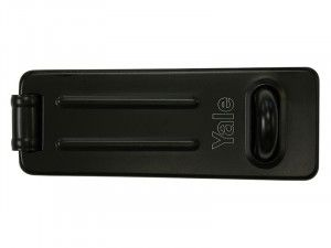 Yale Locks Y135 Steel Hasp & Staple Black Finish 120mm