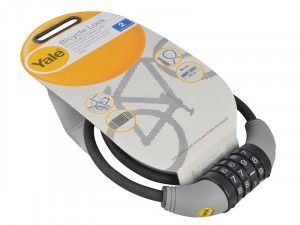 Yale Locks YCCL1 Combination Cable Bike Lock 60cm x 8mm