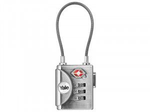 Yale Locks YTP3 TSA Soft Shackle Padlock 32mm
