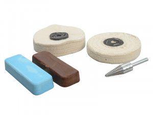 Zenith Profin Polishing Kit Non Ferrous Metal - Brown & Blue