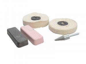 Zenith Profin Polishing Kit Ferrous Metal - Grey & Pink