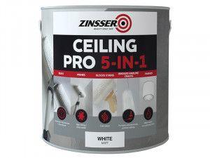 Zinsser Ceiling Pro 5-in-1 2.5 Litre