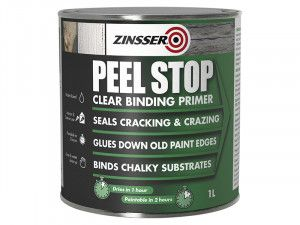 Zinsser Peel Stop Clear Binding Primer Paint 1 Litre