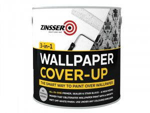 Zinsser Wallpaper Cover Up 2.5 Litre