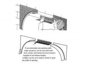 Arch Former Accessories - Make Up Bridging Piece