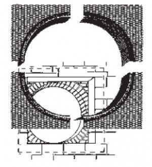 Arch Former Accessories - Circular Window Former Internal Liner