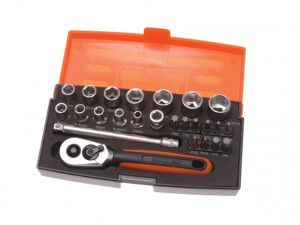 Bahco - Socket Set - 25 Piece