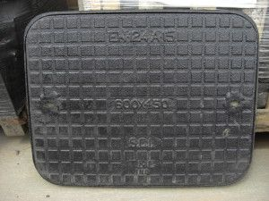 Manhole Covers - Ductile Iron Solid Top - Single Seal - A15