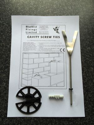 Brickwork Product - Cavity Screw Ties