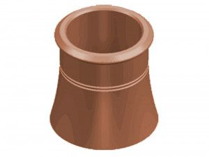 Chimney Pot - Cannon Head Pot (KYM)