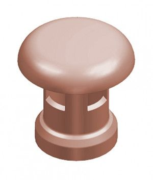 Chimney Pot - Large Mushroom Push-On Top (KLMP)