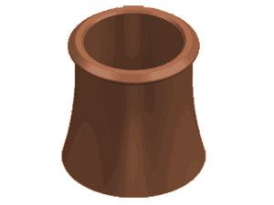 Chimney Pot - Roll Top (KYM)