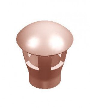 Chimney Pot - Taper Mushroom Push-In Hood (KTPMHS)