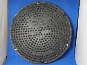 Composite Inspection Chamber Manhole Cover - B125 - Round 450mm Dia