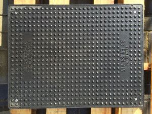 Composite A15 Manhole Cover - 600 x 450mm