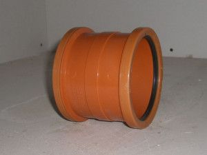 FloPlast - Pipe Couplings - Double Socket - D105