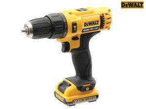 DEWALT DCD716D2 XR Sub Compact Hammer Drill Driver 10.8V 2 x 2.0Ah Li-ion