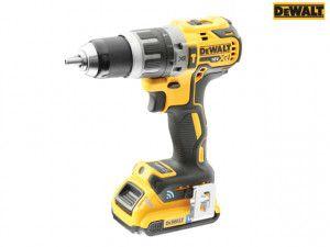 DEWALT DCD797D2B XR Brushless Hammer Drill Driver Tool Connect 18V 1 x 2.0Ah Li-ion