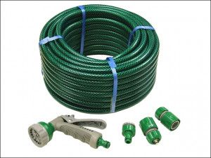 Faithful - PVC Reinforced Hose 30m - Fittings and Spray Gun