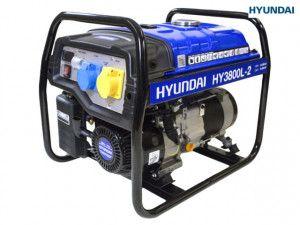 Hyundai 3.2 kW / 4.0 kVA Generator Recoil Start
