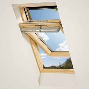 Keylite - Centre Pivot Roof Window - Pine Finish