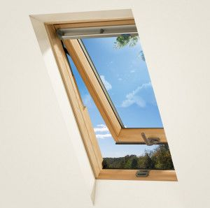 Keylite - Top Hung/Fire Escape Roof Window - Pine Finish