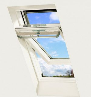 Keylite - Centre Pivot Roof Window - White Finish