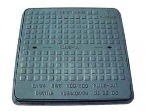 Manhole Covers - Ductile Iron Solid Top - Single Seal - B125