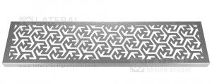 Aquascape - Drainage Channel Cover - Stainless Steel Grate - Maze