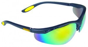 Dewalt - Reinforcer Fire/Mirror Safety Glasses
