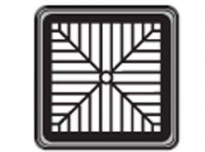 FloPlast - Spare Square Grid - D502